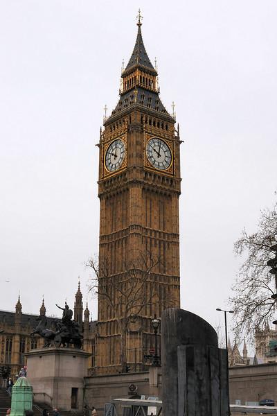 Big Ben from Westminster Pier