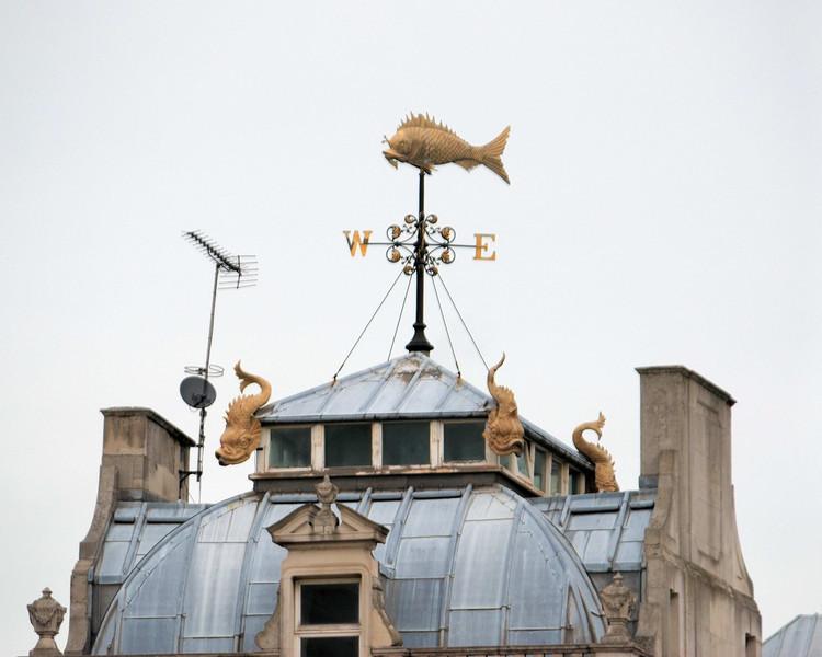 Billingsgate Fish Market is the United Kingdom's largest inland fish market.