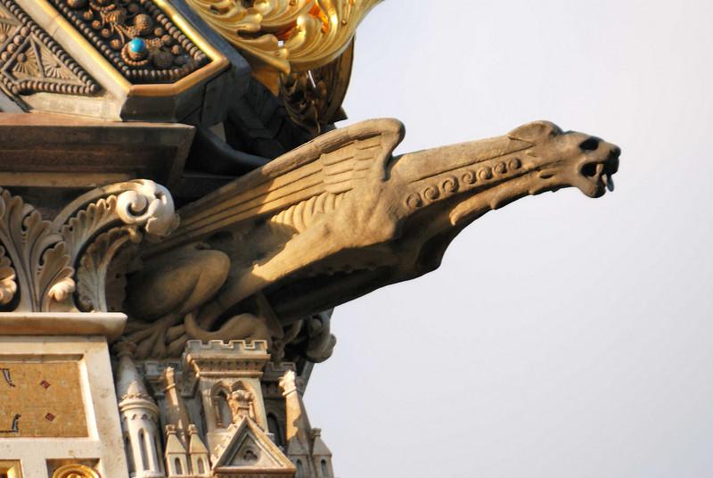 Gargoyles on the Prince Albert Memorial in Hyde Park