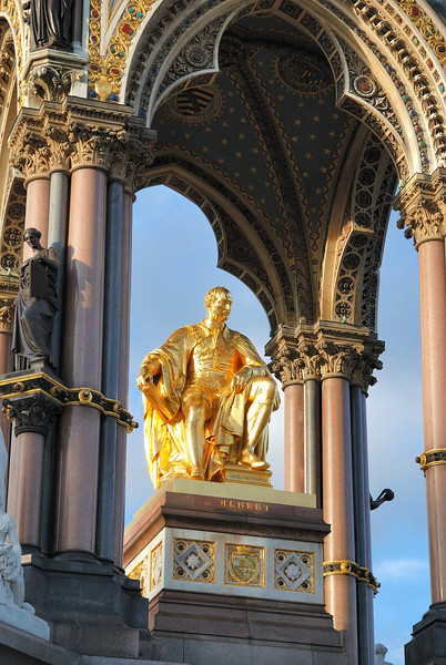 Prince Albert Memorial in Hyde Park