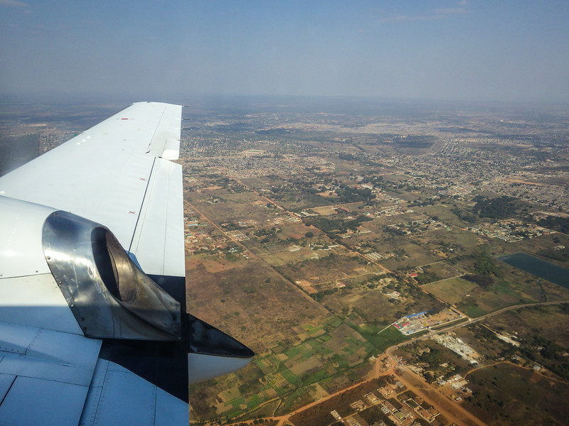 Approaching Lusaka