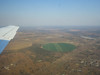 In the air again , heading to Mfuwe