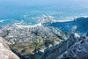 Camps Bay from Table Mountrain