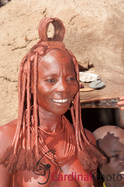 Himba Tribes people in Puros Namibia