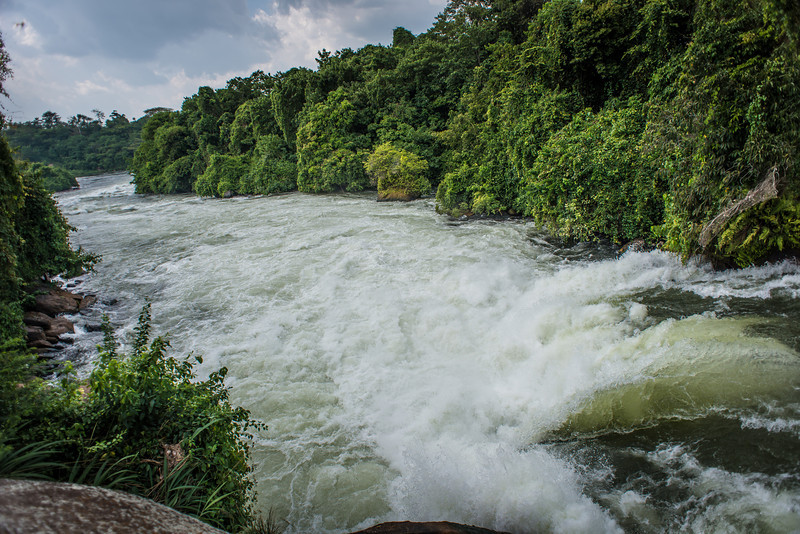 Kalagala Falls on the Nile