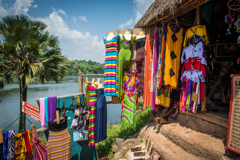 Vendor on Edge of the River Nile