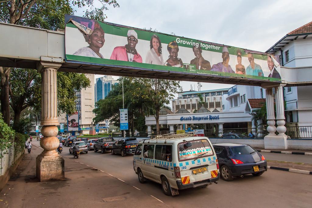 Trafic in Kampala