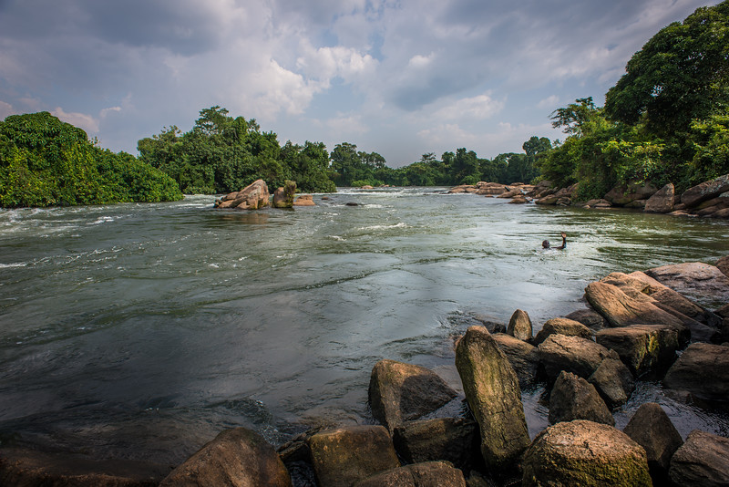 Kalagala Falls on the Nile
