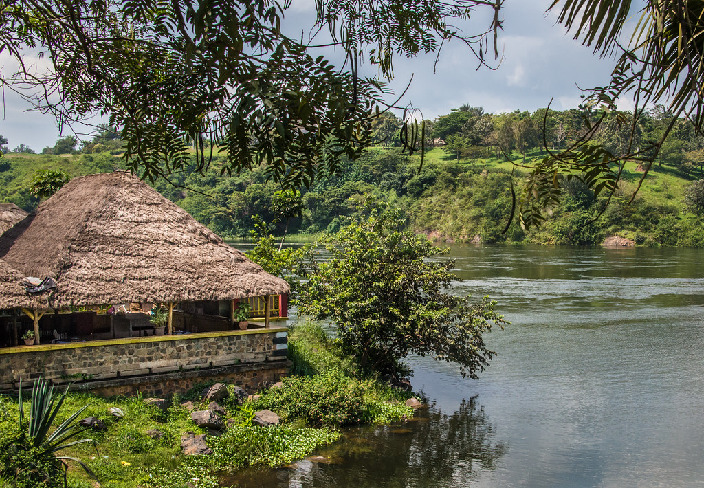 Lunch Hut on the River Nile