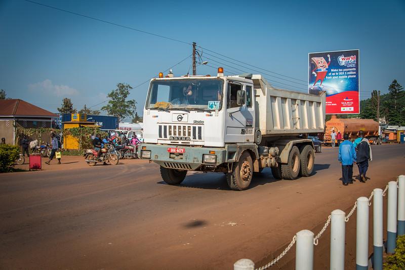 Jinga to Kampala Road