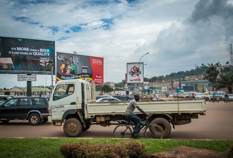 Kampala to Entebbe Road
