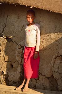 Young Maasai Villager - M