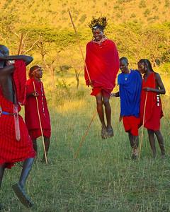 Maasai Dance; Campi ya Kanzi - M