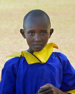 Maasai Schoolgirl near Campi ya Kanzi - M