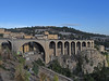Sidi Rached Bridge, Constantine.  My next stop was the large town of Constantine, perched spectacularly on the edge of a deep gorge.