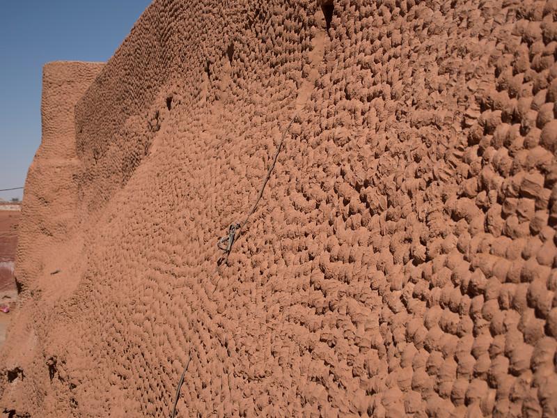 Old wall, Timimoun