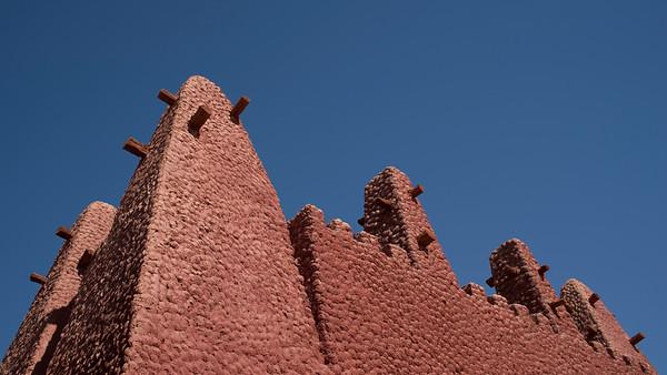 Detail, Porte du Soudan, Timimoun