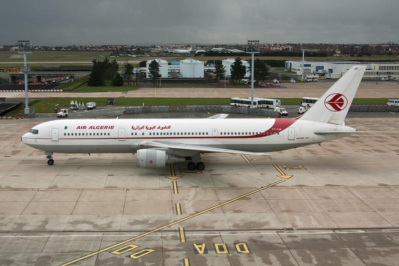 """7T-VJH Boeing 767-3D6 """"Air Algerie"""" c/n 24767 Paris-Orly/LFPO/ORY 27-03-10"""