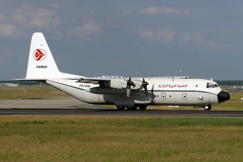 7T-VHL Lockheed L-100-30 Hercules c/n 4886 Frankfurt/EDDF/FRA 04-06-17
