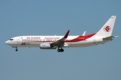 """7T-VKM Boeing 737-8D6 c/n 60749 Paris-Orly/LFPO/ORY 10-06-17 """"25th Boeing 737NG"""""""