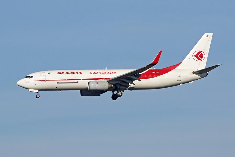7T-VJJ Boeing 737-8D6(BCF) c/n 30202 Brussels/EBBR/BRU 06-11-20