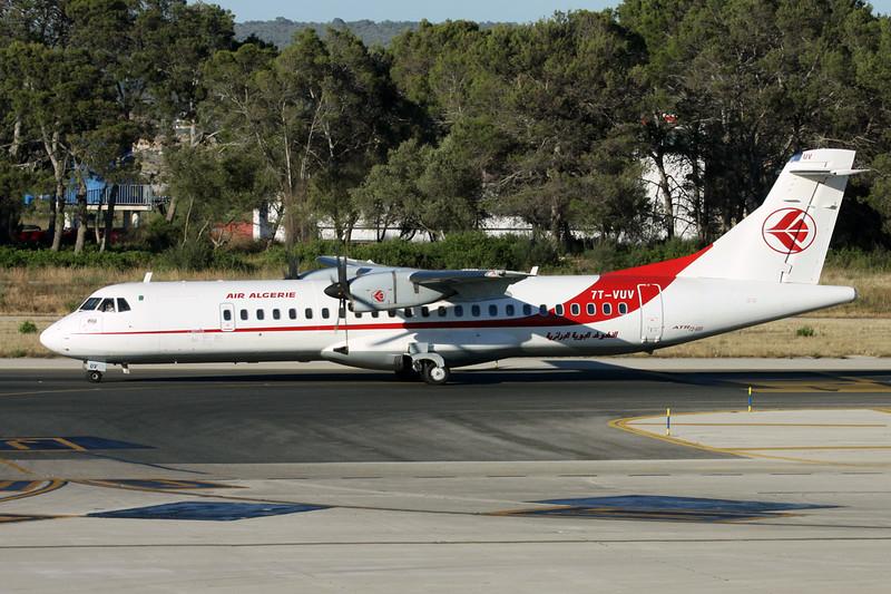 """7T-VUV Aerospatiale ATR-72-600 """"Air Algerie"""" c/n 1258 Palma/LEPA/PMI 16-06-16"""