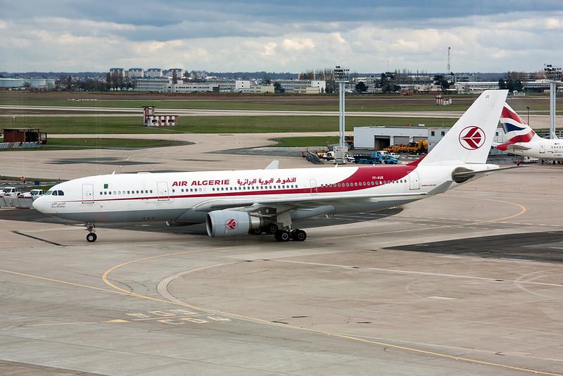 """7T-VJX Airbus A330-202 """"Air Algerie"""" c/n 650 Paris-Orly/LFPO/ORY 27-03-10"""