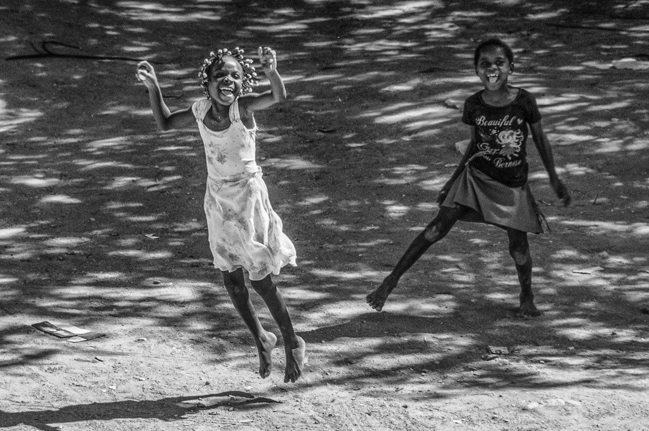 Local kids in Lobito, Angola