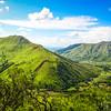 Remote valley along the Ganda - Caluquembe dirt road