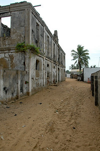 Abadoned buildings in the old fishing village...