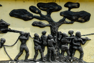 Mural depicting the 'forgetting tree'....
