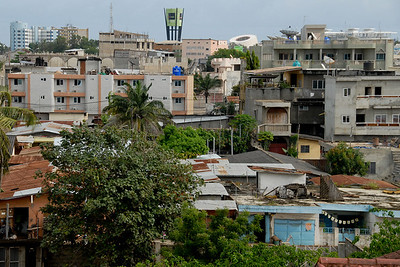 A view of Cotonou...