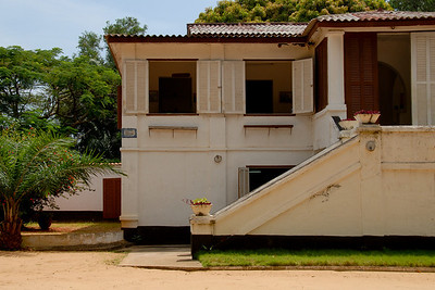 The slave museum in Ouidah...
