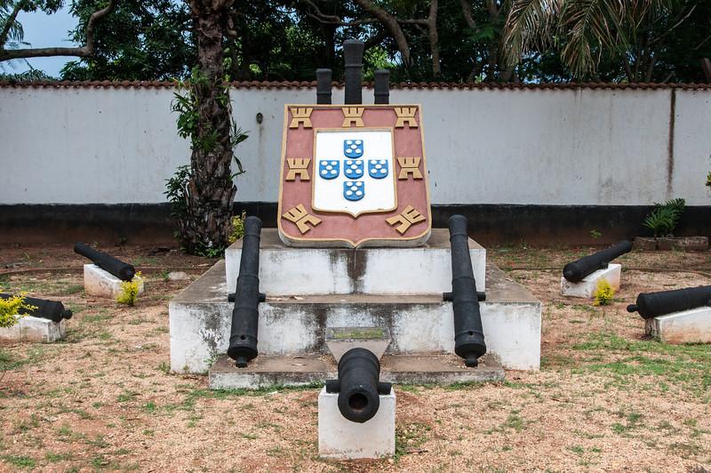 Ouidah Museum of slavery in Cotonou, Benin