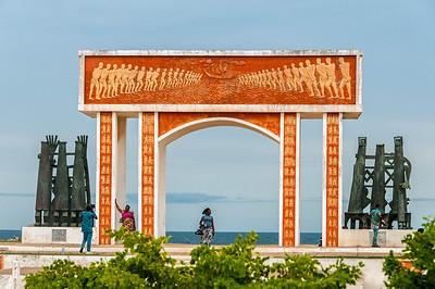 Presidential Palais in Cotonou, Benin