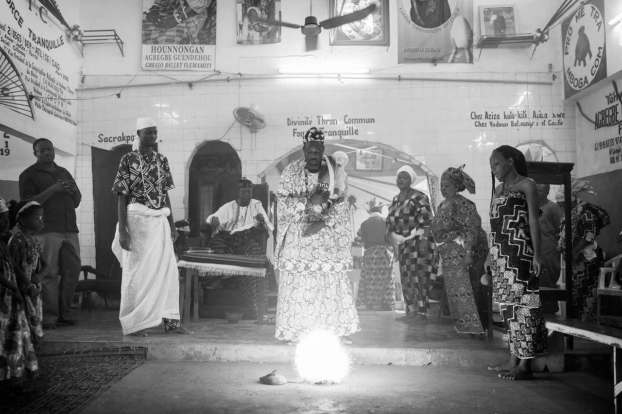 Thron Voodoo Temple, Cotonou