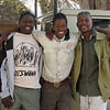 Our intrepid guides: Paul, Option, and Teenage (Yes, really!)