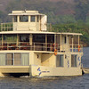 One of two Ichobezi safariboats on which we sailed up the Chobe River