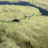 Flying Over the Okavango Delta, Botswana