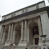 The New York Public Library is housed in this impressive building.