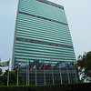 The UN headquarters in NYC was an appropriate place to visit before leaving for Africa.