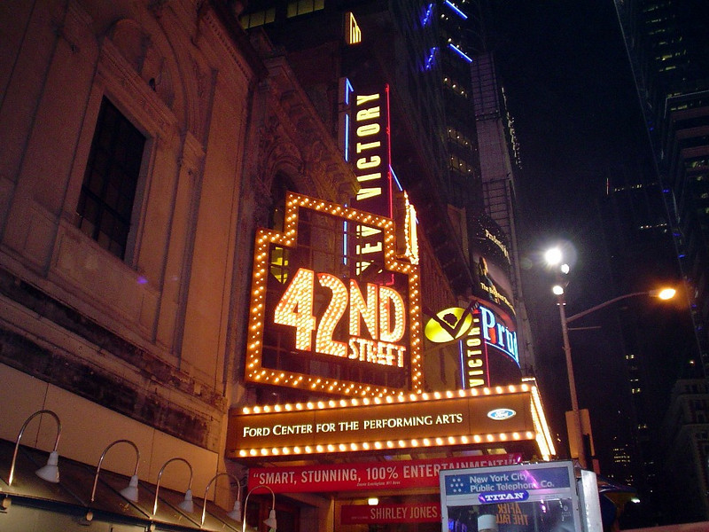 Our very first Broadway show was indeed a spectacular one.