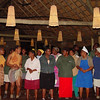 On our last evening, the camp staff entertained us with folk songs and dances.