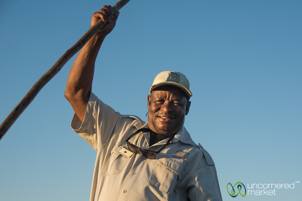 John Carter, Legendary Guide at Camp Okavango, Botswana