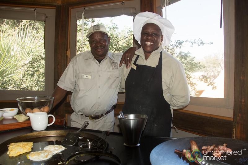 Camp Okavango Staff Romance - Botswana