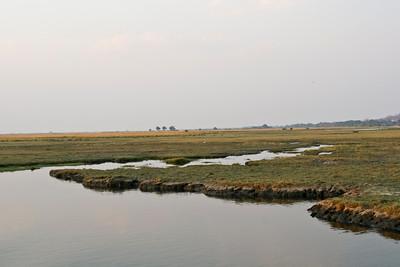 Chobe River and flood plain, Chobe National Park, Botswana