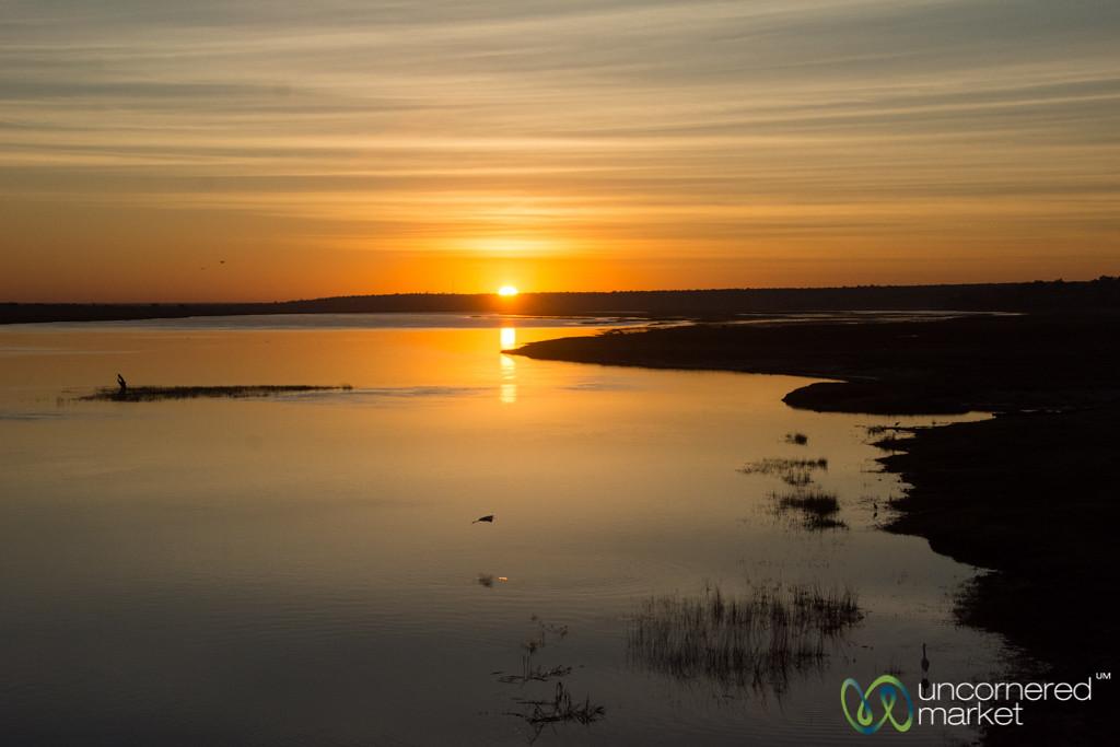 Sunset Along the Chobe River - Botswana