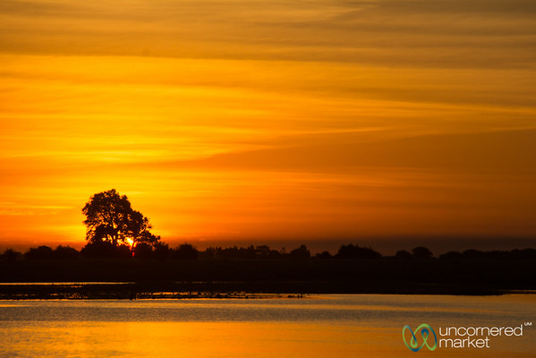 Sunset Along the Chobe River - Botswana