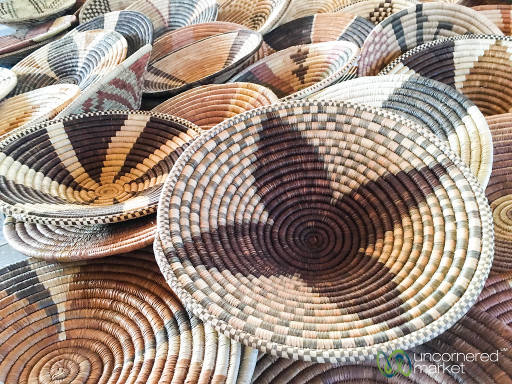 Traditional Basket Designs With Meaning - Kachikau, Botswana