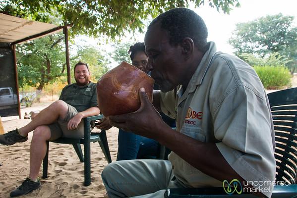 Botswanan Sorghum Beer - Kachikau, Botswana